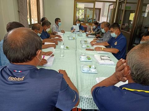 ประชุมคณะกรรมการร่างแผนพัฒนาท้องถิ่น (พ.ศ.2566 - 2570) องค์การบร