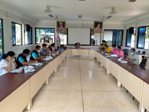 ประชุมการจัดทำแผนและอนุมัติแผน (สปสช.) องค์การบริหารส่วนตำบลโนสุ